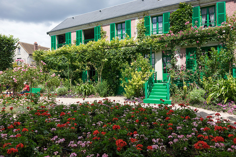 Dom Clauda Moneta w Giverny