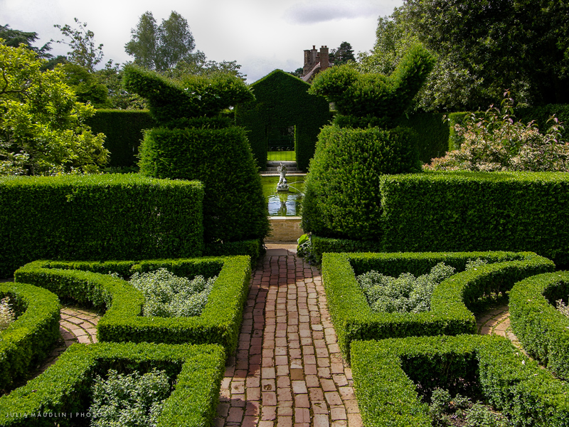 Topiary w Hidcote Manor