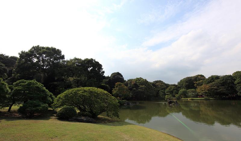 Ogród krajobrazowy Rikugi-en