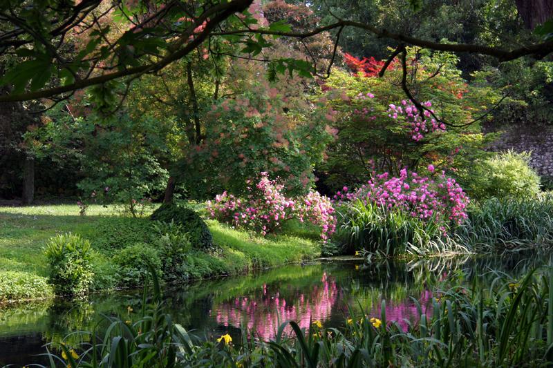 Ninfa- romantyczny ogród