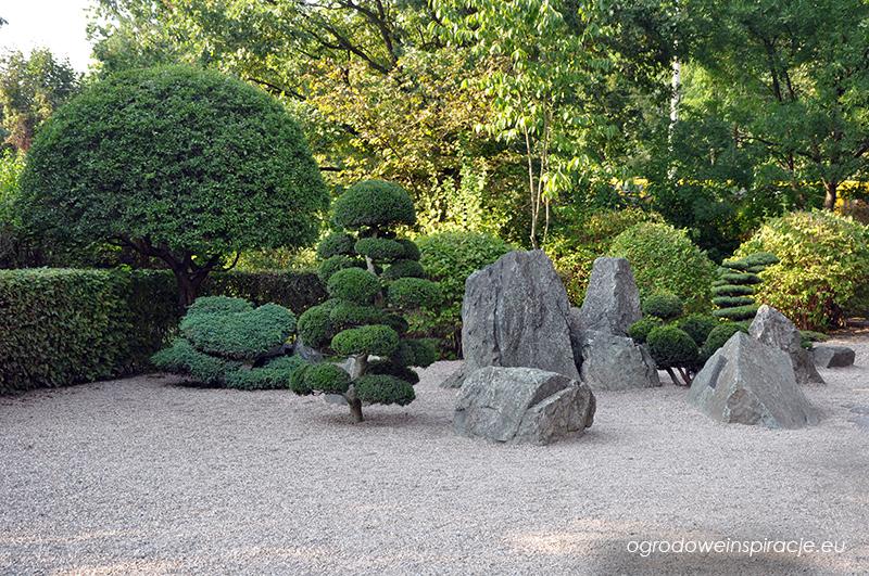 Japoński ogród żwirowy we Wrocławiu