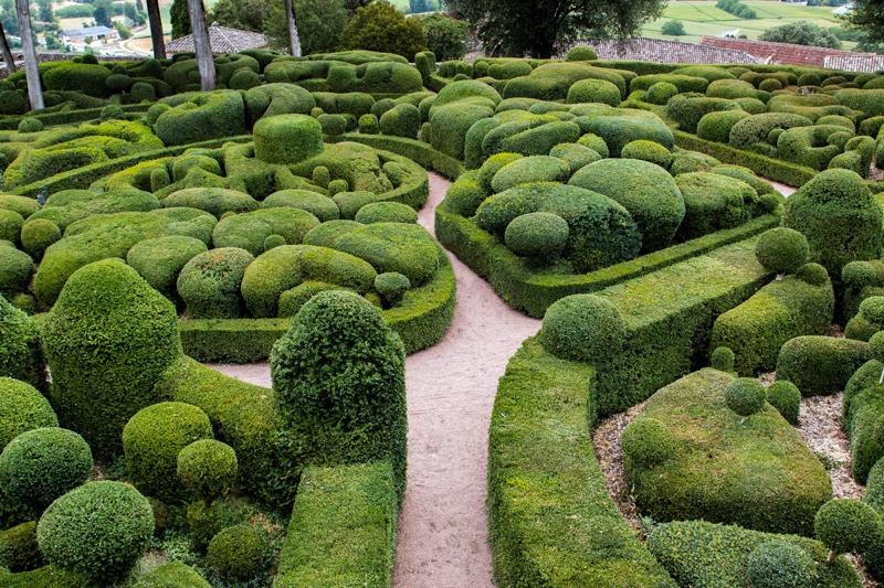 Marqueyssac – ogród wyrzeźbiony w bukszpanie