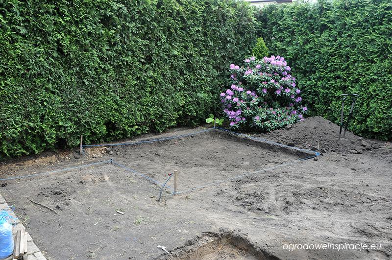 Prace ziemne w ogrodzie